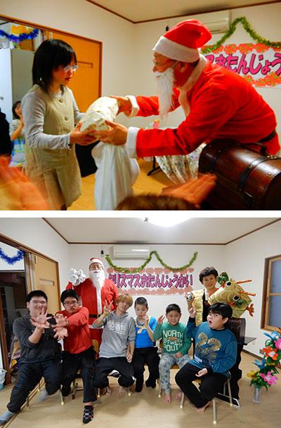 クリスマスお誕生会の様子