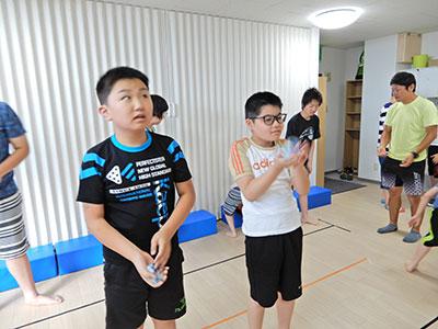 スポーツ教室の様子